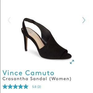 Vince Camuto Crasantha suede sandals